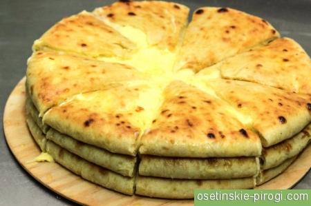 Бахетле пироги осетинские