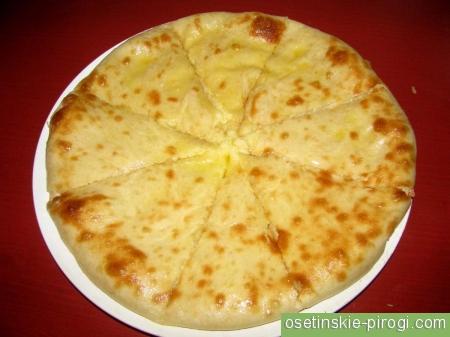 Дешёвый осетинский пирог