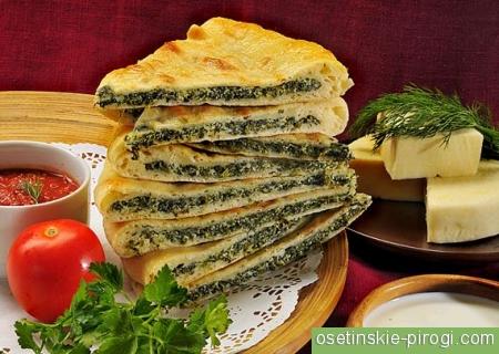 Доставка осетинских пирогов в Подмосковье
