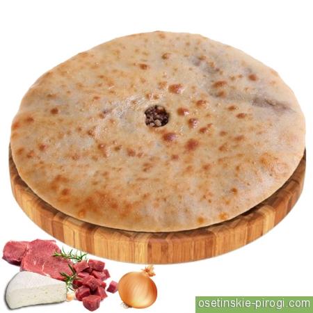 Доставка осетинских пирогов в ВАО