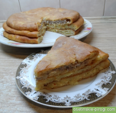 Где делают вкусные осетинские пироги