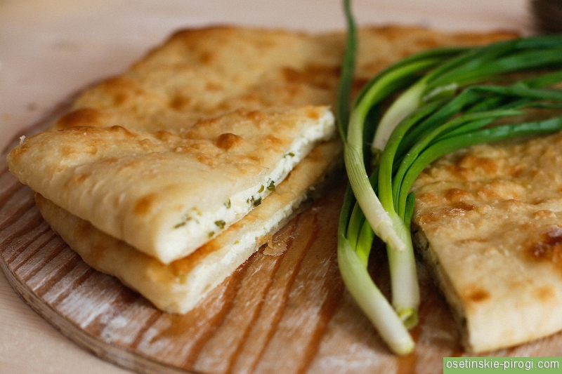 Осетинские пироги с луком рецепт с