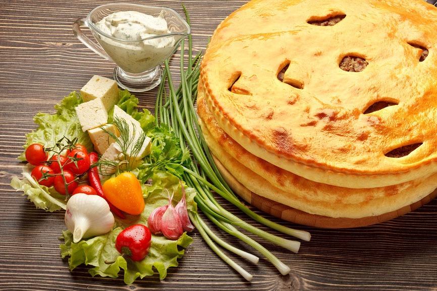 Осетинские вкусные пироги с доставкой