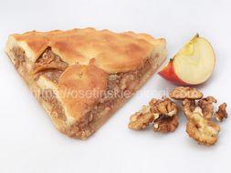 Осетинские пироги С яблоком и грецким орехом