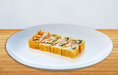 Осетинские пироги Жареная тортилья с лососем