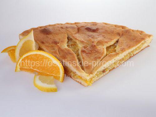 Осетинские пироги в Москве с доставкой С лимоном и апельсином
