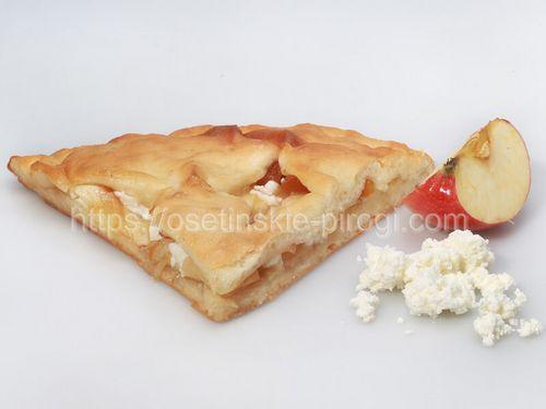 Осетинские пироги С яблоком и творогом