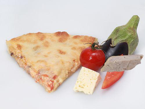 Осетинские пироги С баклажаном, помидором, болгарским перцем и курицей