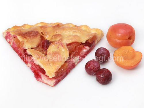 Осетинские пироги С вишней и абрикосом