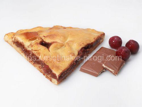 Осетинские пироги С вишней и шоколадом