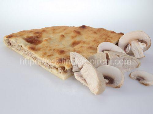 Осетинские пироги в Москве с доставкой С курицей и грибами