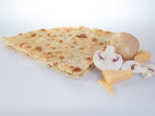 Осетинские пироги в Москве с доставкой С сыром, картофелем и грибами