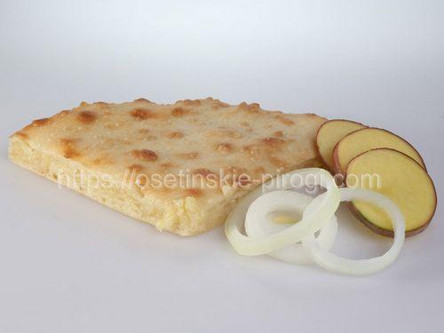 Осетинские пироги в Москве с доставкой С картофелем и жареным луком