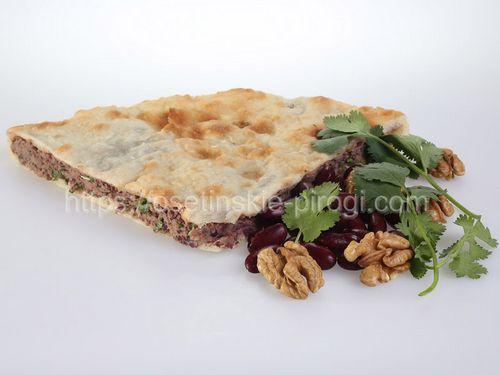 Заказать осетинские пироги С фасолью, грецким орехом и кинзой Доставка +7(495)724-72-92