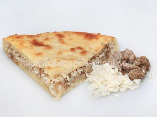 Осетинские пироги С говядиной и рисом