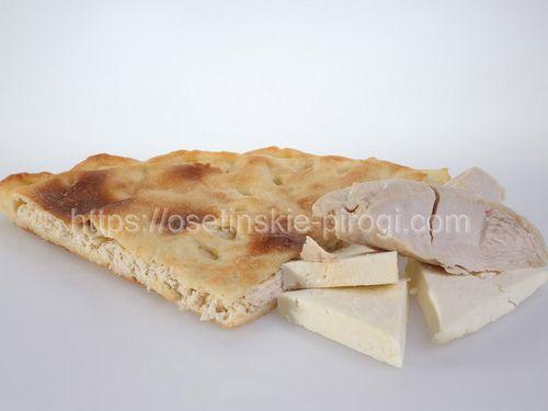 Осетинские пироги в Москве с доставкой С курицей и сыром
