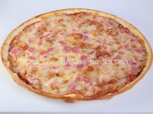 Осетинские пироги в Москве с доставкой Пицца ветчина с сыром
