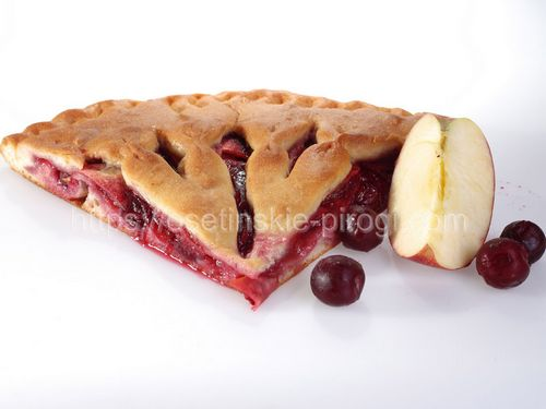 Осетинские пироги в Москве с доставкой С яблоком и вишней