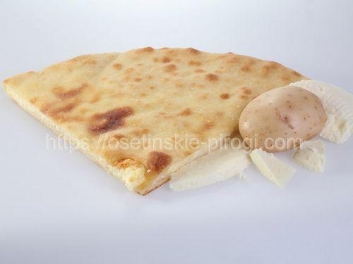 Осетинские пироги в Москве с доставкой С сыром и картофелем