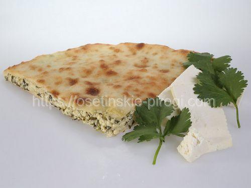 Осетинские пироги в Москве с доставкой С сыром и кинзой