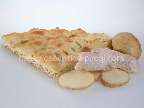 Осетинские пироги в Москве с доставкой С курицей и картофелем