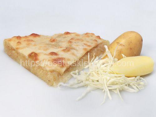 Осетинские пироги в Москве с доставкой С картофелем и капустой