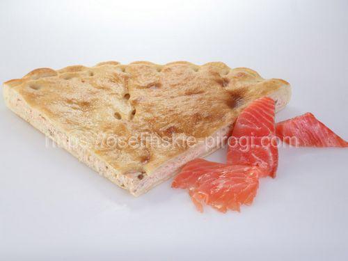 Осетинские пироги С семгой