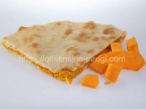 Осетинские пироги С тыквой и жареным луком