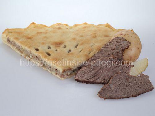 Осетинские пироги С говядиной и картофелем