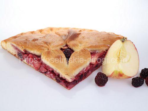 Осетинские пироги С яблоком и ежевикой
