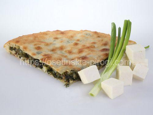 Осетинские пироги С сыром и луком