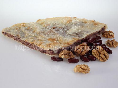 Осетинские пироги С фасолью и грецким орехом