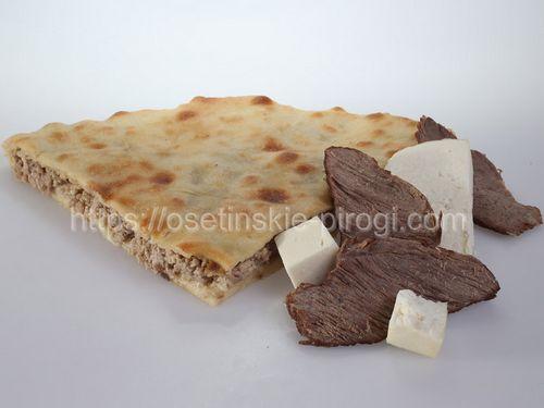 Осетинские пироги С говядиной и сыром