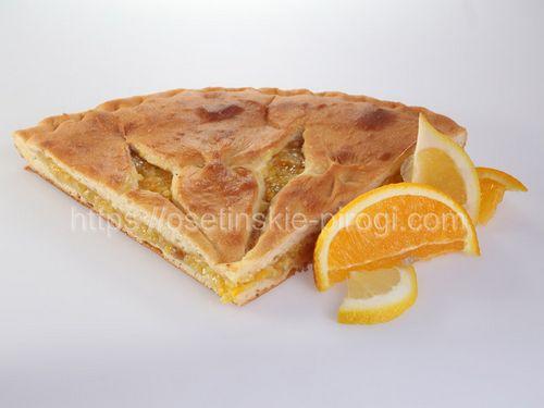 Осетинские пироги С лимоном