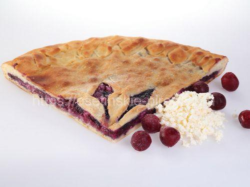 Осетинские пироги С творогом и вишней