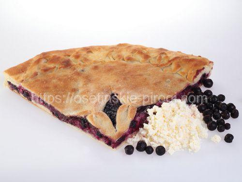 Осетинские пироги С творогом и черникой
