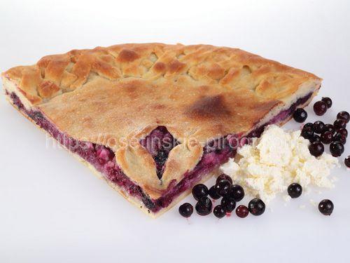 Осетинские пироги С творогом и смородиной
