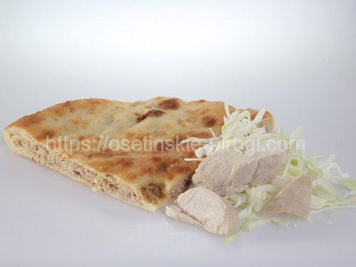 Осетинские пироги С индейкой и капустой