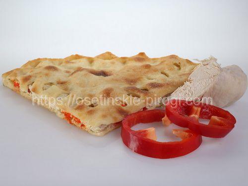 Осетинские пироги С индейкой и болгарским перцем