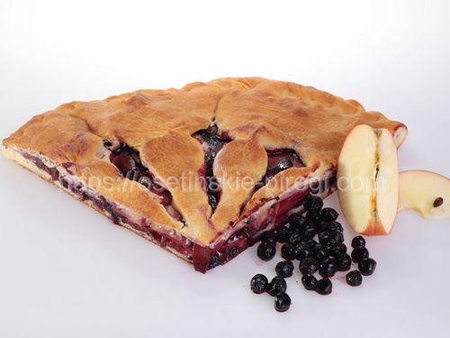 Осетинские пироги С яблоком и черникой
