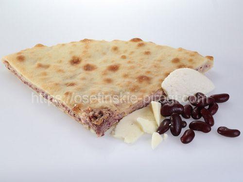 Осетинские пироги С фасолью и сыром