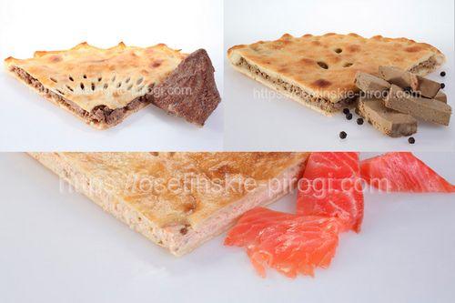Осетинские пироги в Москве с доставкой Набор (Мальчишник) дешевле на 15%