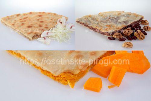 Осетинские пироги наборы (сеты) - Набор (Постный 2) дешевле на 15%