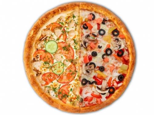 Пицца Дачная / Овощьной микс