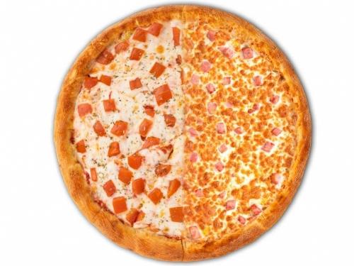 Пицца Маргарита / Ветчина с сыром