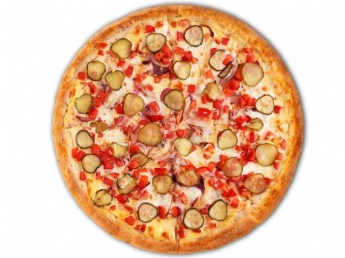 Пицца Мексиканская с беконом