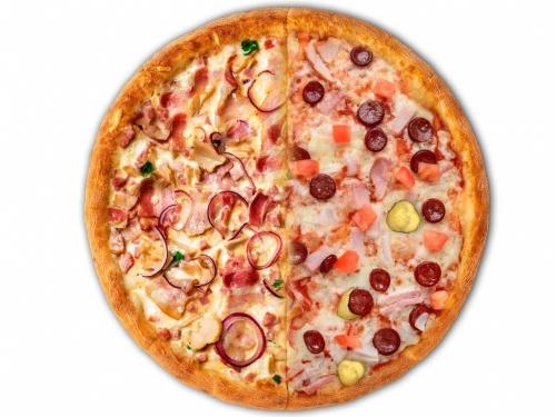 Пицца Миланезе / Биф-Бекон
