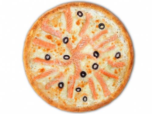 Пицца Рыбная с лососем