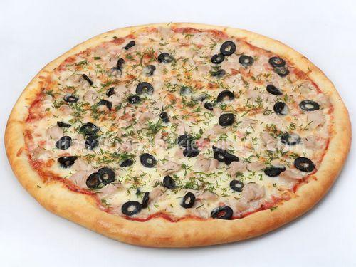 Осетинские пироги в Москве с доставкой Пицца Рыбная с лососем
