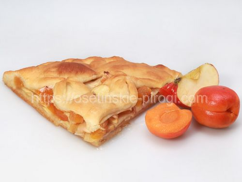 Осетинские пироги в Москве с доставкой С яблоком и абрикосом